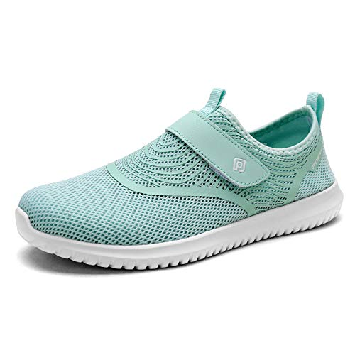 DREAM PAIRS Women's C0210_W Lt.Green Fashion Athletic Water Shoes Sneakers Size 11 M US
