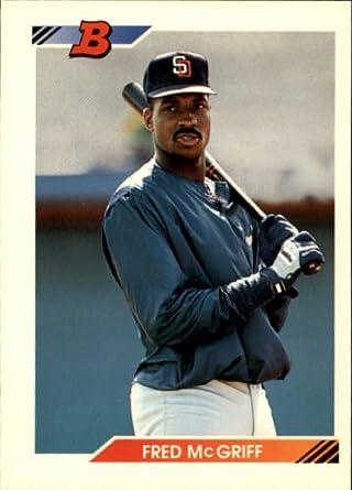 Amazoncom 1992 Bowman Baseball Card 650 Fred Mcgriff Near Mint