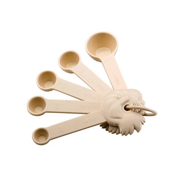 Paula Deen Signature Nonstick Cookware Pots and Pans Set, 15 Piece, Aqua Speckle 5