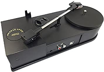 Wimi USB Mini vinilo giradiscos Tocadiscos velocidad 33/45 rpm ...