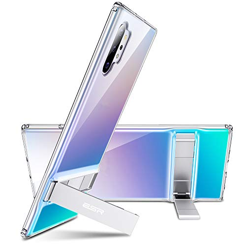 ESR Metal Kickstand Compatible with Galaxy Note 10 Plus Case, Vertical and Horizontal Stand, Reinforced Drop Protection,Flexible TPU Case for Samsung Galaxy Note 10+ / 10 Plus / 5G 6.8
