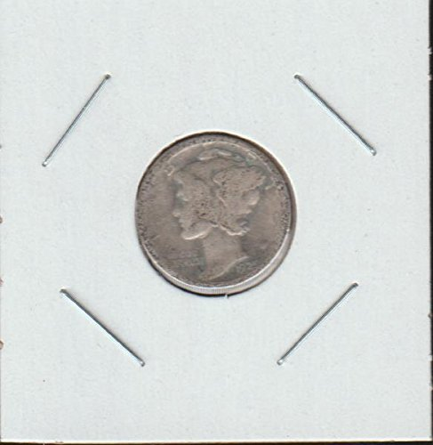 1925 D Winged Liberty Head or Mercury (1916-1945) Dime Good (Dime 1916 Head Mercury)