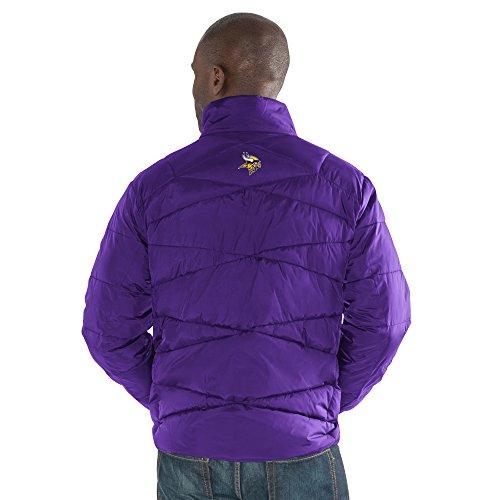 G-III Sports Herren Jacke The Blitz Full Zip Packable, Herren, LAY00233, violett, M