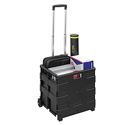 Safco Stow-Away Crate, 3 inch
