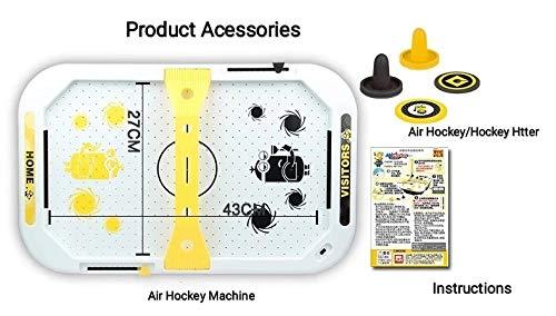 WMHEEL Mini Arcade Desktop Air Hockey- Top Game for Kids, Teens, and Adults