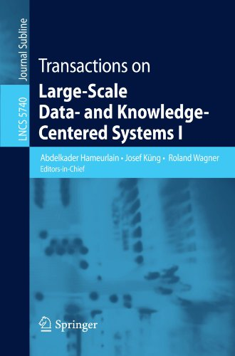 Transactions on Large-Scale Data- and Knowledge-Centered Systems I (Lecture Notes in Computer Science) ()