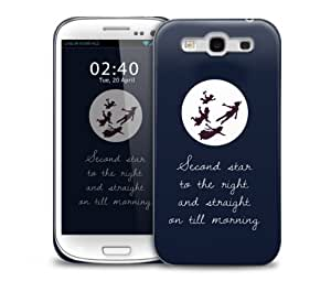 peter pan quote Samsung Galaxy S3 GS3 protective phone case