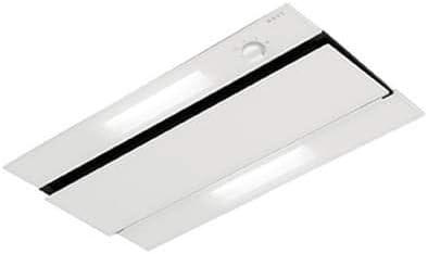 NOVY 874 - Campana (470 m³/h, Canalizado, 59 dB, De techo, Transparente, Blanco, Vidrio, Acero inoxidable): Amazon.es: Hogar