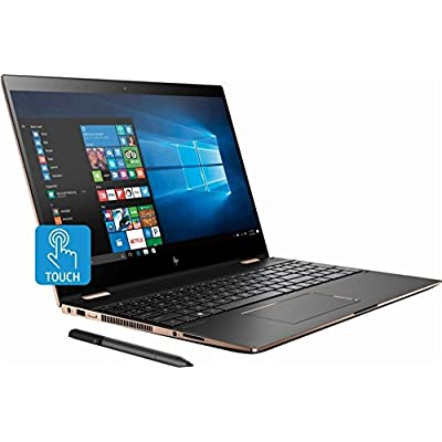 HP Spectre x360 15t Touch 4K UHD,i7-8705G 3.1GHz,Radeon 4GB RX Vega M,NumPad,HP Stylus,512GB SSD,16GB RAM,Win 10 Pro Pre-Installed by HP, 3 YRS McAfee Internet Security,B&O Speakers, HP Premium Wty,