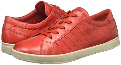 ice Scarpe Aimee tomato Stringate Rosso 50325 Donna White Ecco zYqd5q