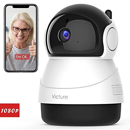 🥇 Victure Full HD 1080P IP WiFi cámara de seguridad inalámbrica para el hogar