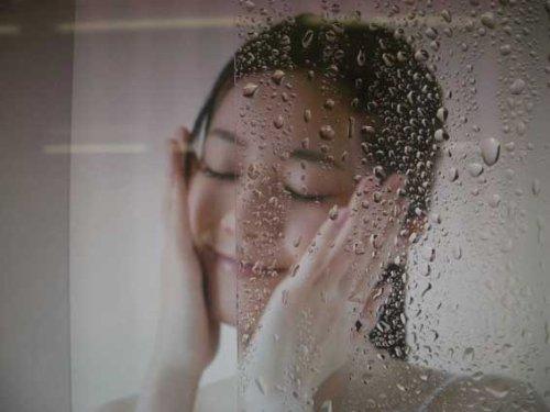 お風呂の鏡の曇り止めスッキリフィルム業務用の切り売り 幅1220mmをm/単位で販売 B00H0C6C30