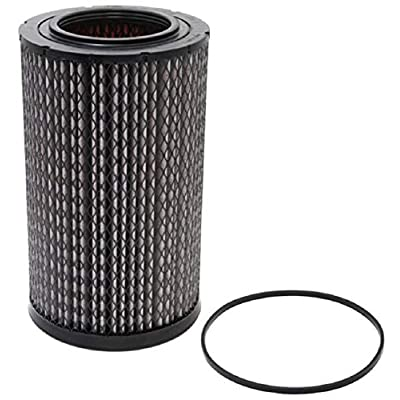 K&N Engine Air Filter: High Performance, Premium, Washable, Industrial Replacement Filter, Heavy Duty: 38-2034R: Automotive