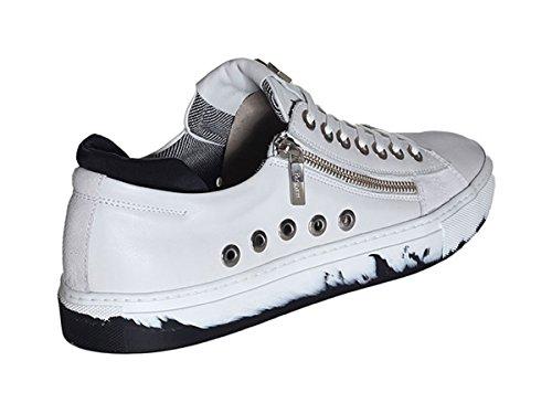 Paciotti 4us Scarpe Sneaker Uomo RRLU3TSZ 301 White Primavera Estate 2018