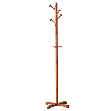 Amazon.com: Coat RACK ZHIRONG - Perchero de madera con 8 ...