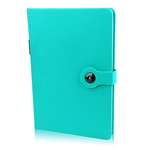100 Sheets/ 200 Pages Classic Hardcover Business A5 Meeting Planner Diary Journal Notebooks and Journals with Pen Loop, Pocket, Calendar (8.3x5.1 In) -
