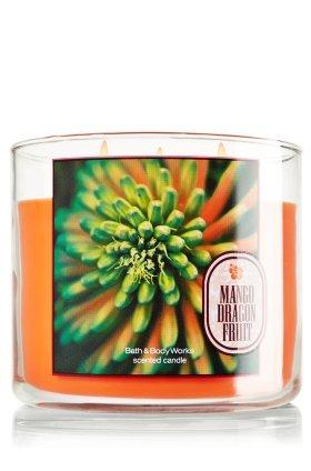 Bath & Body Works Mango Dragon Fruit 3 Wick Scented Candles 14.5oz