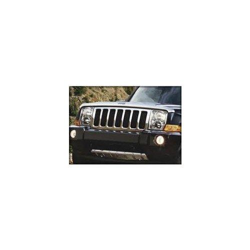 - Mopar 82210694AC Jeep Liberty Chrome Front Air Deflector