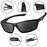 Morph Aim Polarized Sport Sunglasses for Men and Women - Sports: Running Cycling