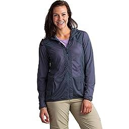 ExOfficio Women\'s Bugsaway Damselfly Jacket, Small, Carbon