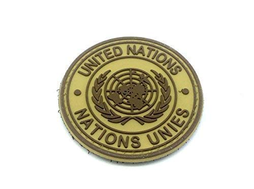United Nations Bronzage PVC Airsoft Patch