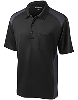 Men's Moisture Wicking Pocket Polo Shirt