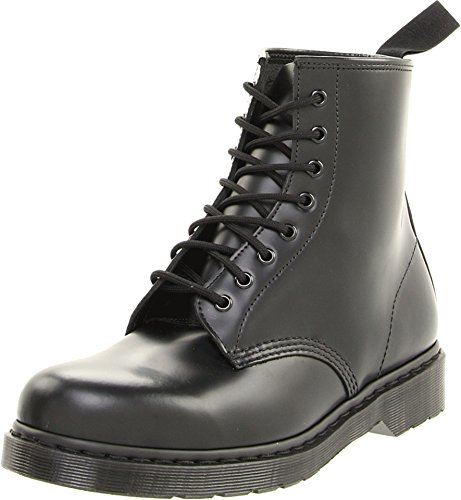 - Dr. Martens Unisex 1460 8-Tie Lace-Up Boot,Black Smooth,UK 7 (US  8,  9) M US