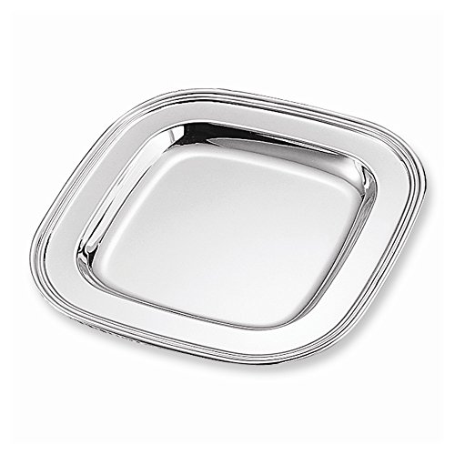 Square Nickel Bracelets (Jewelry Adviser Gifts Nickel-plated 11.5 Inch Square Tray)