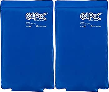 Chattanooga ColPac Blue Vinyl Ice Pack (2 Pack) - Half-Size, 7.5x11 Inch