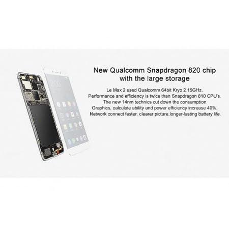 LeEco Le Max 2 Smartphone - 2K 5 7 Inch Display: Amazon co