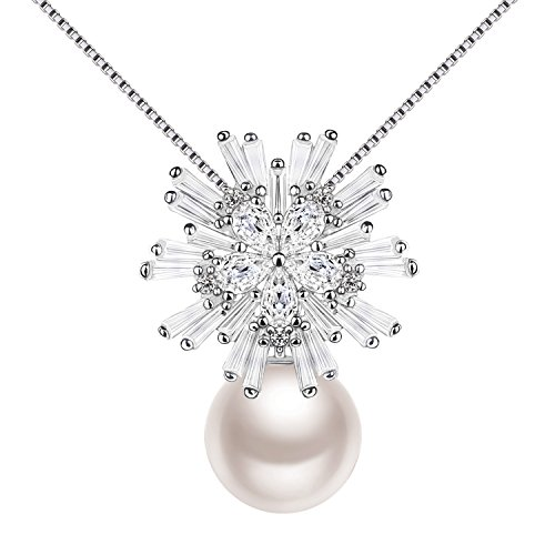 Necklace, Limited Edition with Exquisite Package Freshwater Pearl Pendant
