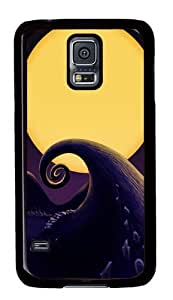 Rugged Samsung Galaxy S5 Case and Cover - The Nightmare Before Christmas Custom Design PC Case Cover for Samsung Galaxy S5 - Black