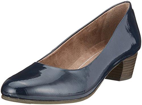Femme Patent Bleu Softline Escarpins Navy 22360 YwanHqR
