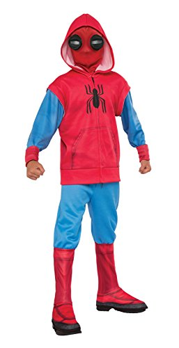 Rubie's Spider-Man: Homecoming, Child's Deluxe Homemade Suit Costume, (Homemade Costume)