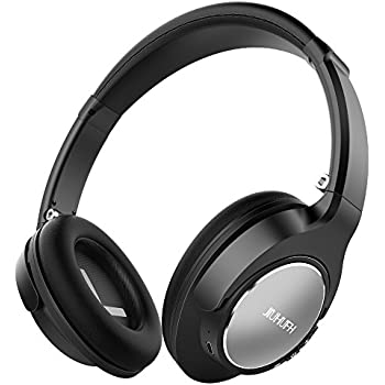 Bluetooth Headphones Over Ear, JIUHUFH JH-803 Premium Comfort Wireless Headphones, Retractable Lightweight Gym Sport Bluetooth 4.1 Headsets with Mic, ...