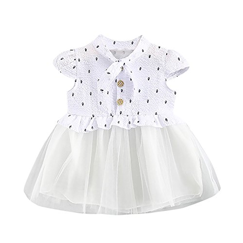 NEARTIME ❤️Baby Dress,Hot 2018 Cute Beautiful Baby Girls Infant Toddle Children 2Pcs Bow Striped Tops+Tutu Skirt -
