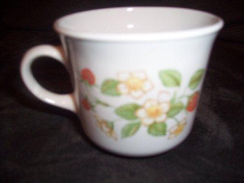 - Corelle Strawberry Sunday Cup / Mug 2 3/4