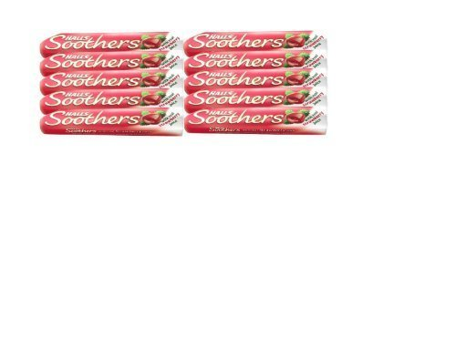 Soother Lozenges - Halls Soothers Lozenges Strawberry 10 - PACK OF 10 [Personal Care]