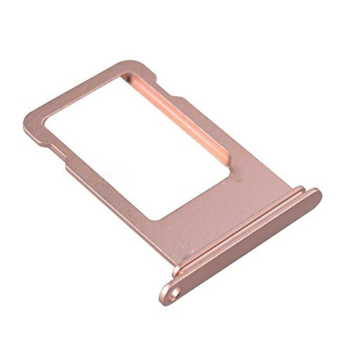 best website a30d8 41afc ATEANO Sim Card Tray Holder Slot Replacement Part For Iphone 7 Plus (5.5'')  Rose Gold