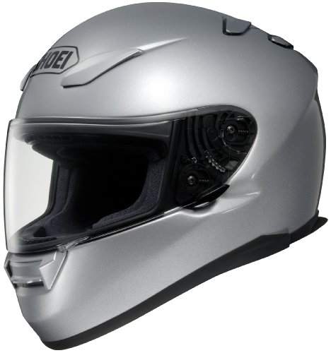 Shoei Rf-1100 Light Silver SIZE:XXL Full Face Motorcycle Helmet