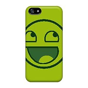 EPe35223dIJN DanLuneau Happy Face Meme Durable Iphone 5/5s Cases