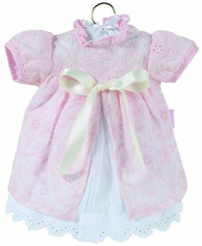Corolle 17 Inch Baby Doll - Corolle Classic Baby Doll 17-inch Fashion Pink Eyelet Dress & Shrug