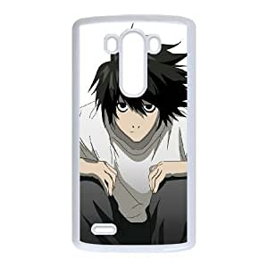 LG G3 Phone Cases White Death Note BOK497814