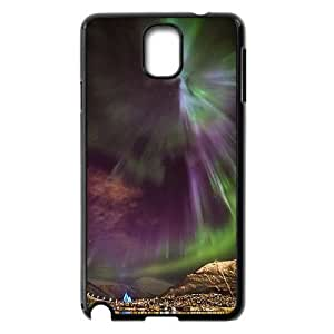 The Aurora Borealis Custom Cover Case with Hard Shell Protection for Samsung Galaxy Note 3 N9000 Case lxa#380178