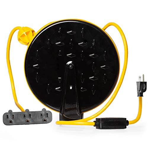 self retracting extension cord - 2