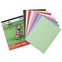 Carolina Pad U: cree una tableta de papel de construcción para trabajo pesado, 12 x 18 pulgadas, colores surtidos, 32 hojas (7618)