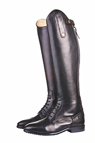 Black boots for children extra HKM slim Valencia long riding wUqTx78