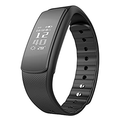 iWOWNfit i6 HR Smart Wristband Fitness Tracker Smartband Heart Rate Monitor Waterproof Bluetooth Smart Band Bracelet for Android IOS