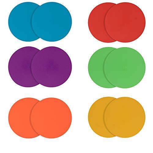 Juvale Floor Spot Markers for Kids, 10-Pack 9