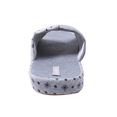 casa para Gris zapatillas WILLIAM Verano interior Bowknot familia de del zapatillas Blanco antideslizante Hermosa del amp;KATE deslizador zapatillas zapatillas de wXfHOq